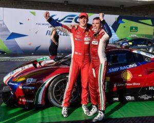 WEC: 1° e 3° posto per la Ferrari al COTA