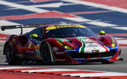 WEC 6H COTA: pole della Ferrari di Rigon e Bird