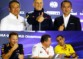 Singapore: la conferenza stampa dei team