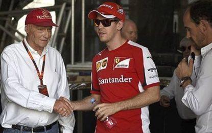 """Lauda: """"Ferrari favorita a Singapore"""""""