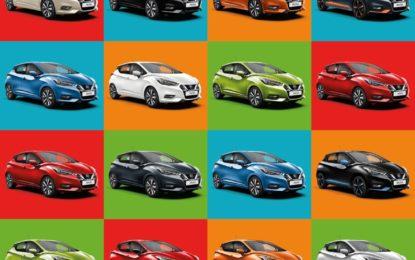 Nissan Micra e la scelta del colore