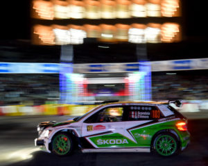 Rally Roma: 2° posto per Skoda e Scandola