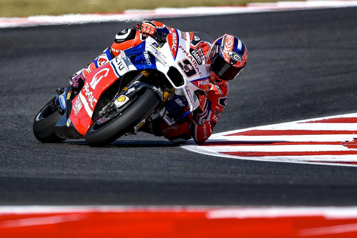 MotoGP: Petrucci davanti a tutti nel venerdì di Misano