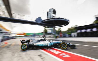 GP Italia: Mercedes davanti nelle libere a Monza