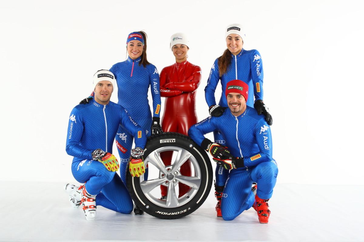 Pirelli pronta per l'inverno e con gli atleti FISI