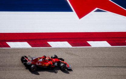 GP USA: venerdì altalenante in casa Ferrari