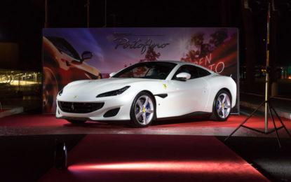 Prima a Roma per la Ferrari Portofino