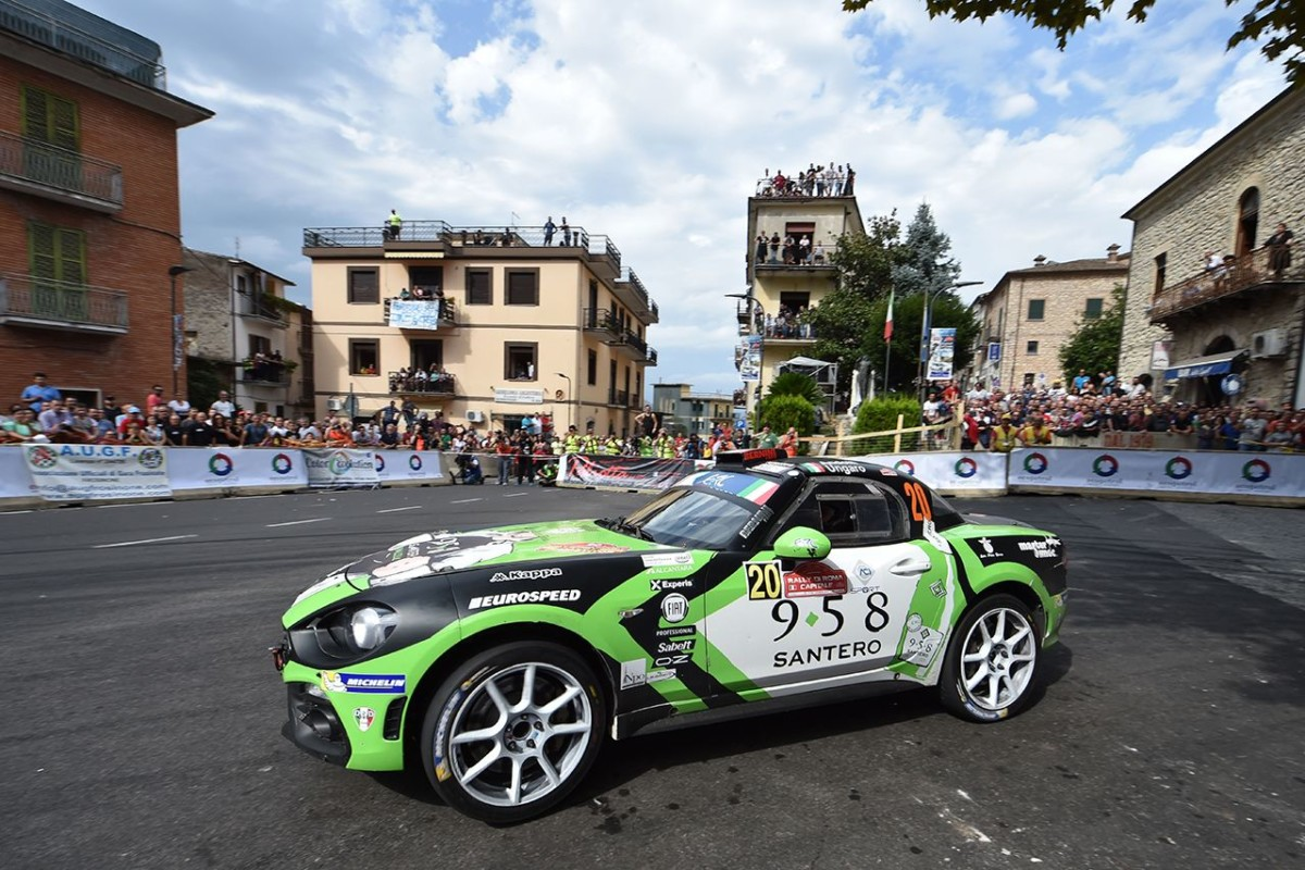 Trofeo Abarth 124 rally Selenia: finale a Verona
