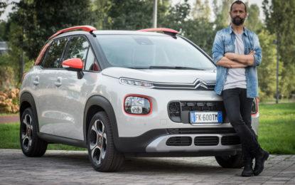 Fabio Volo per Citroën C3 Aircross