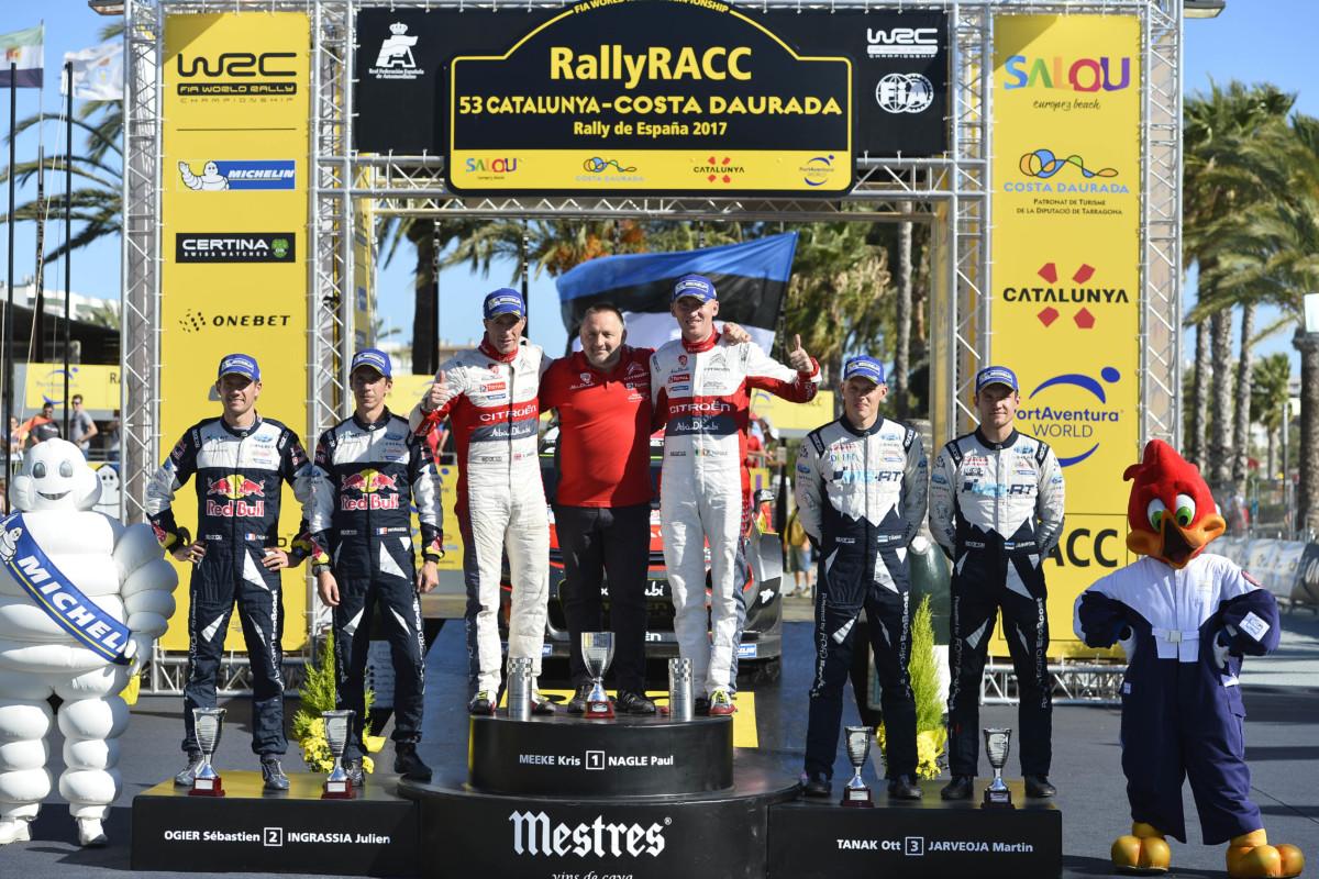 WRC: Citroën Racing torna alla vittoria