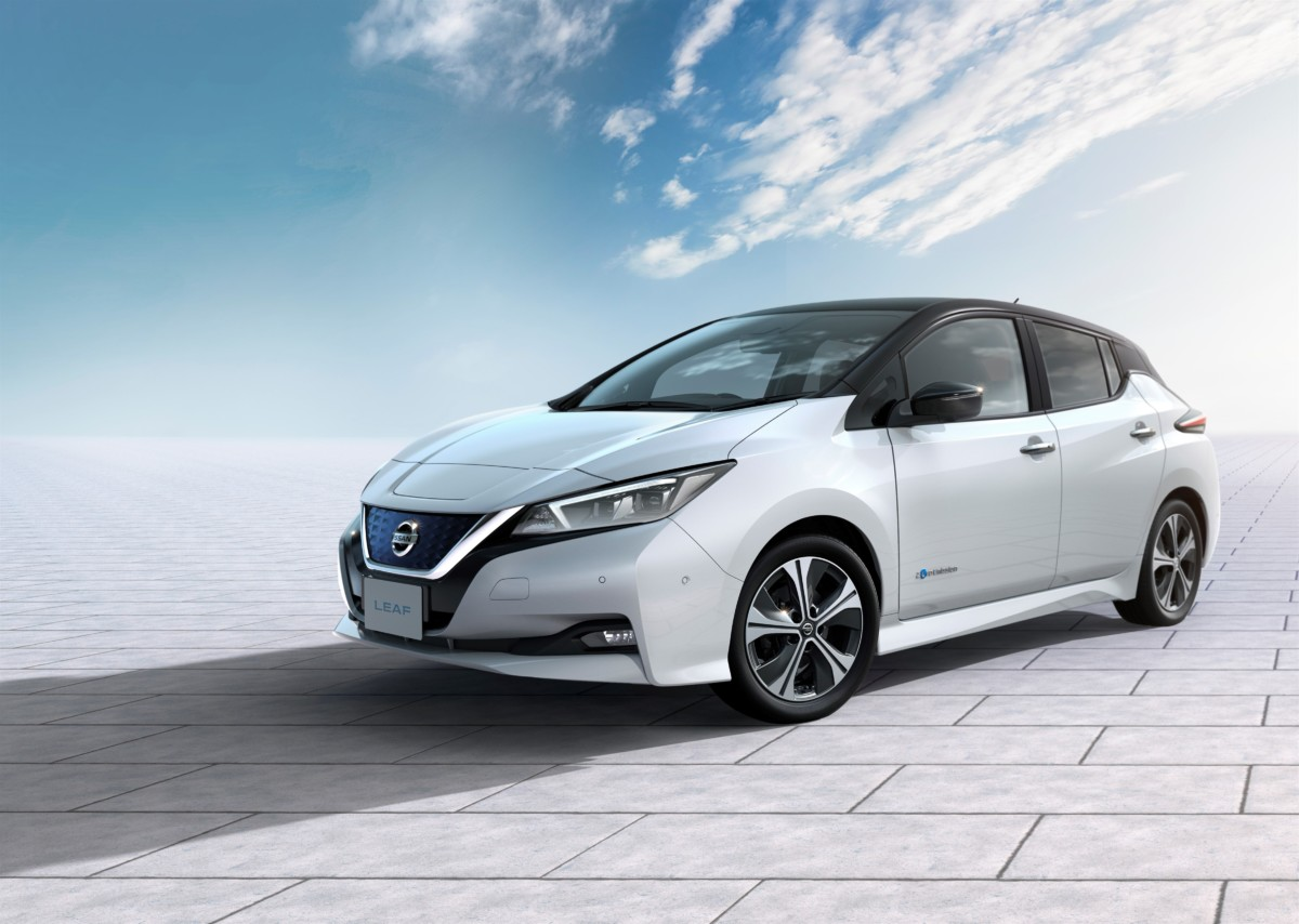 "Nuova Nissan LEAF ""2.ZERO"""