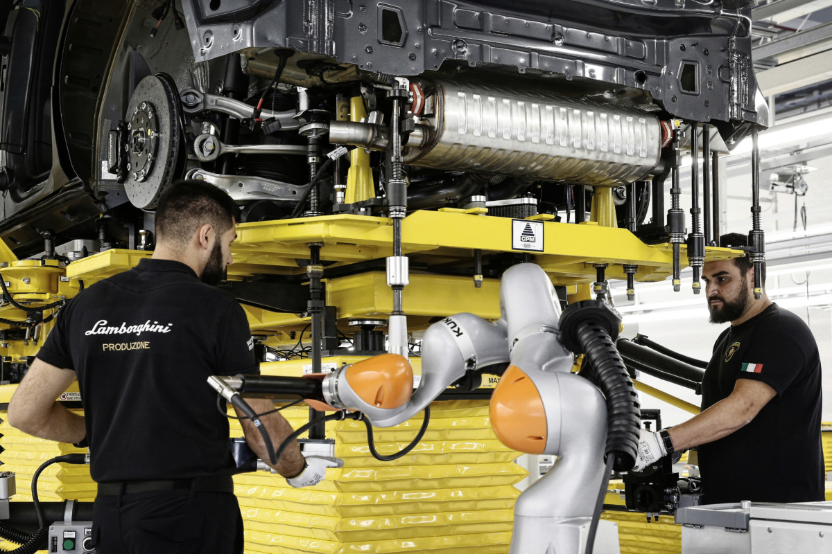 Manifattura Lamborghini: qui nascerà l'Urus