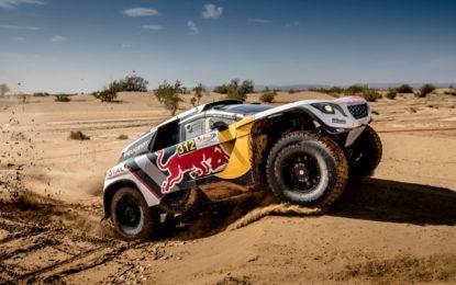 Marocco: primo doppio podio per le 3008DKR di Loeb e Sainz