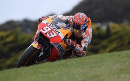 MotoGP: Marquez in pole a Phillip Island