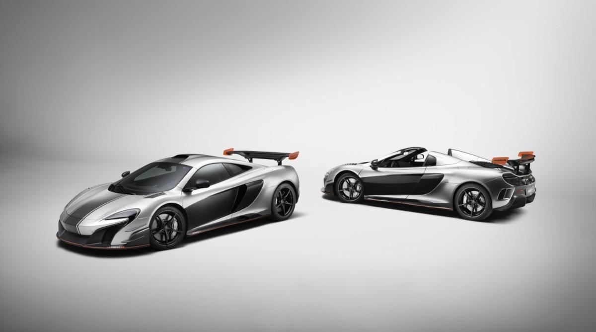 McLaren: una coppia di vetture MSO R su misura