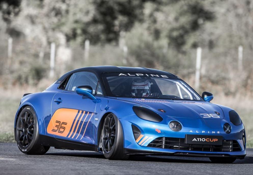 Alpine A110 Cup: in pista nel 2018