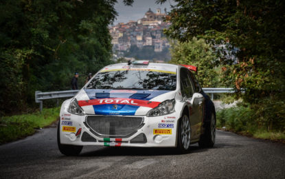 Pirelli da 10 con Peugeot e Andreucci nel CIR