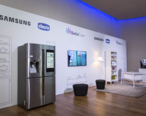 Chicco e Samsung presentano Bebè Care