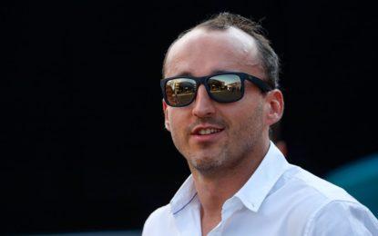 Nessuna informazione dalla Williams sul test di Kubica
