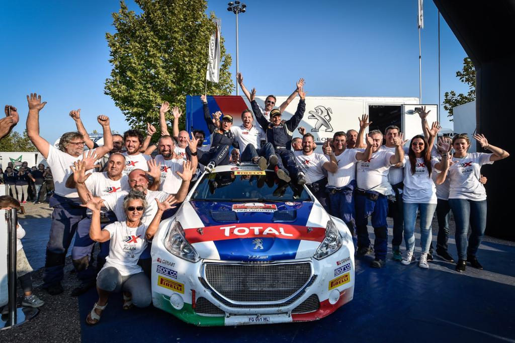 Peugeot e Andreucci ancora insieme nel CIR 2018