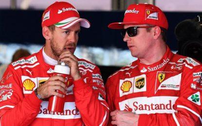 USA: Vettel e Raikkonen concentrati e uniti