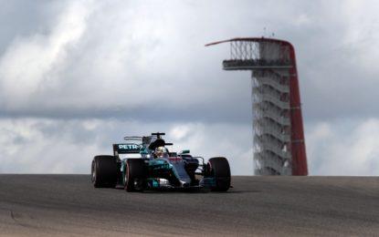 GP USA: meno di un decimo tra Hamilton e Vettel nelle FP3