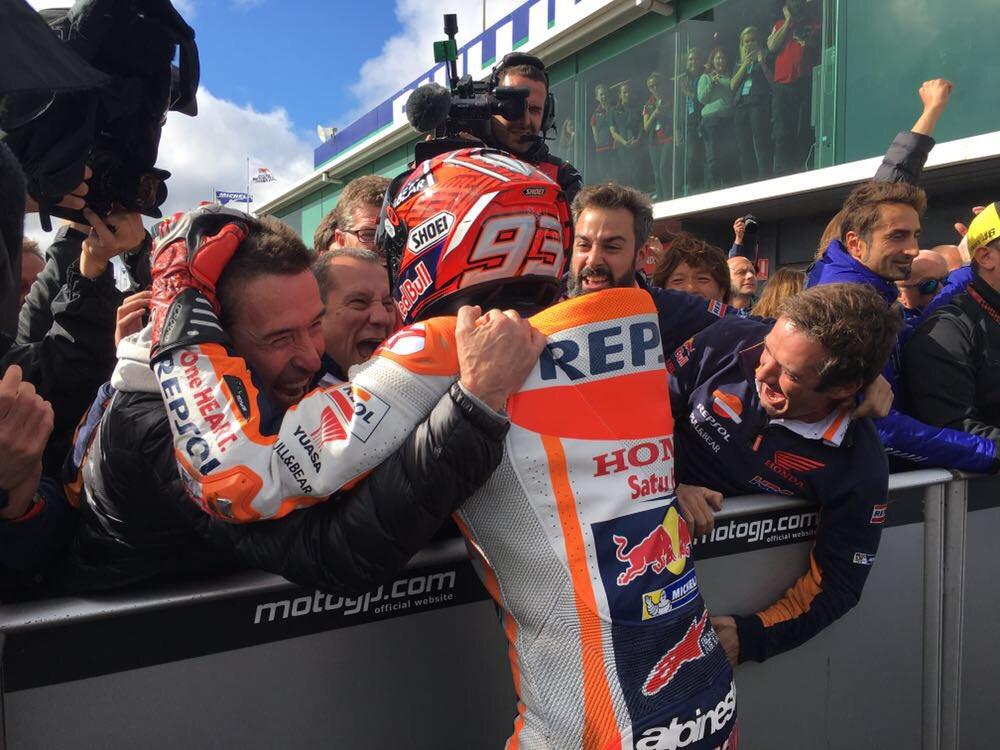 Australia: Marquez vince e allunga. Rossi e Viñales sul podio