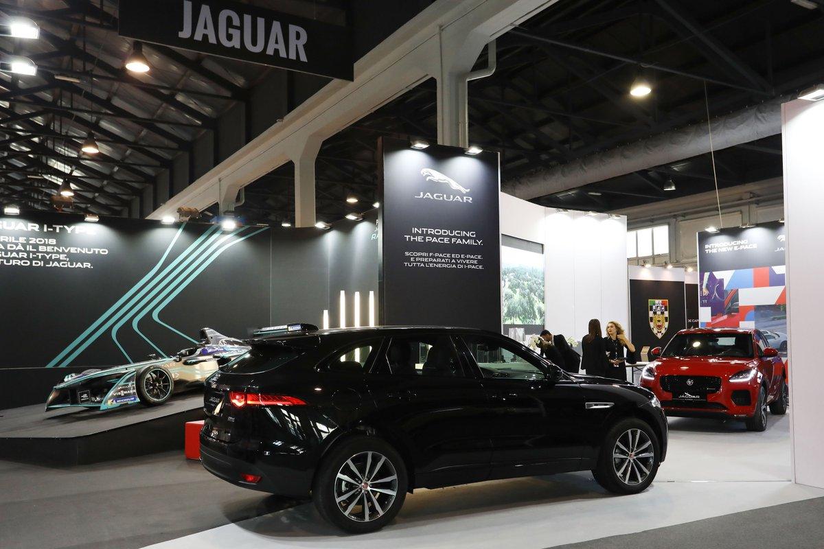 Jaguar ad Auto e Moto d'Epoca a Padova