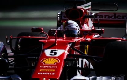 Messico: pole superlativa di Vettel davanti a Verstappen