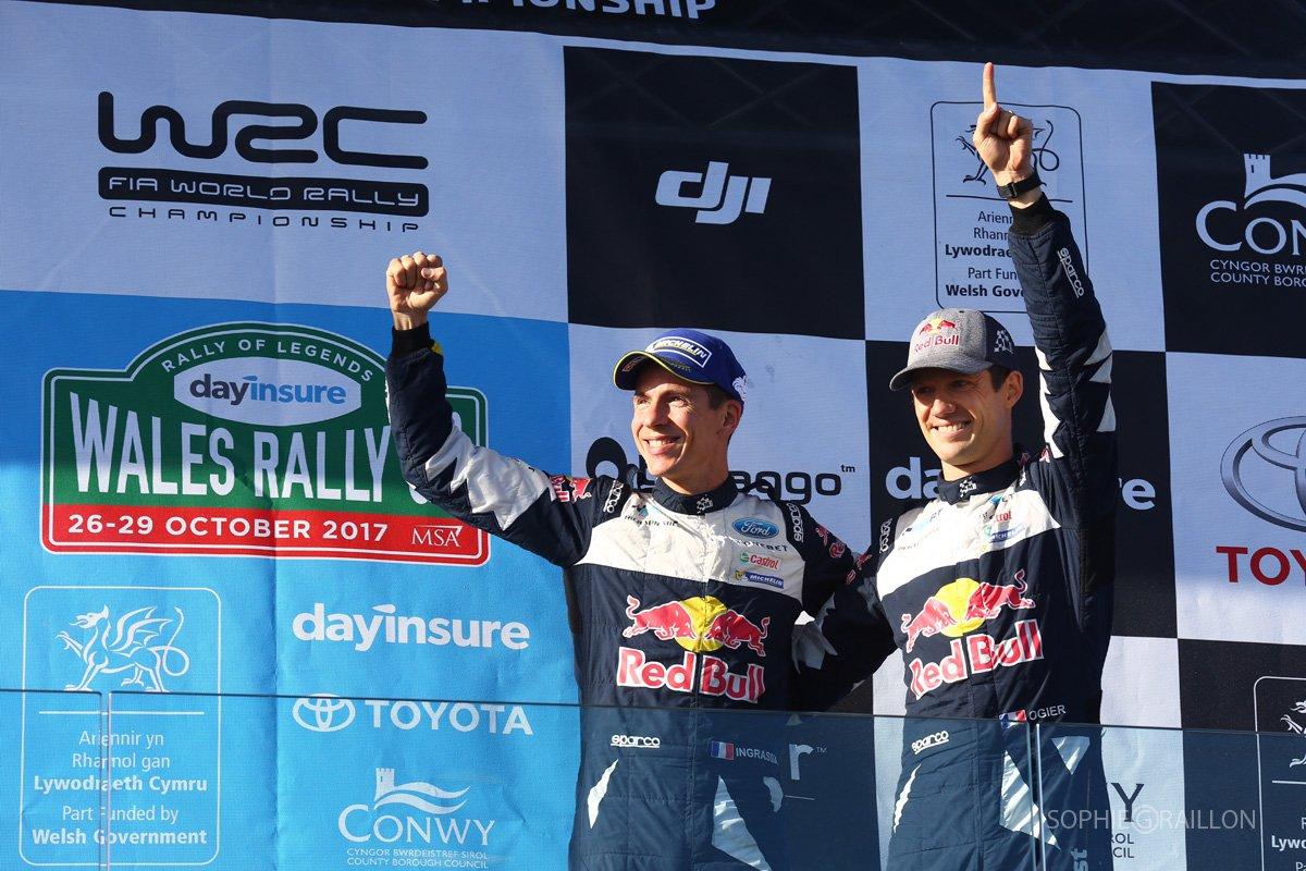 Sparco sul tetto del mondo WRC con Ogier e M-Sport