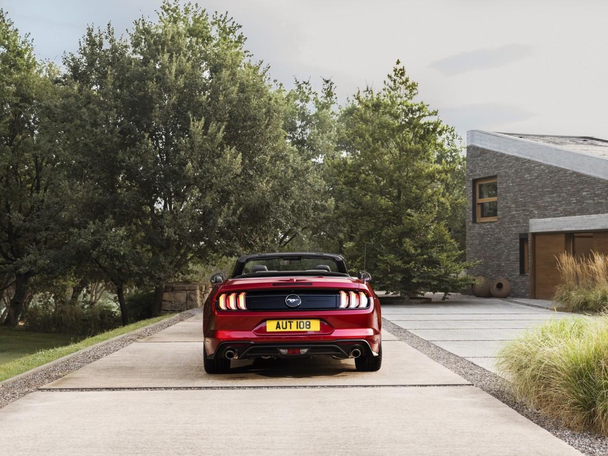 Ford Mustang mai così silenziosa