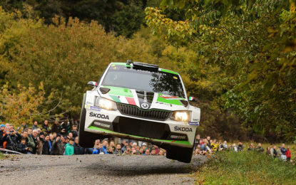 ŠKODA Italia Motorsport al 35° Rally Due Valli