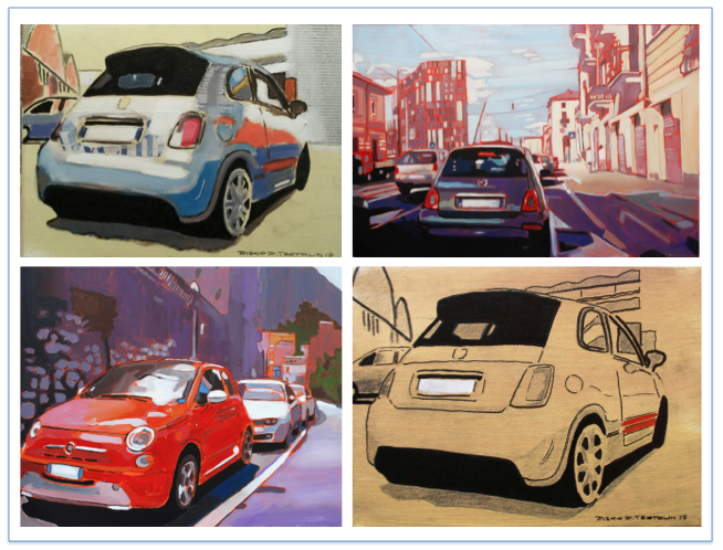Cinque100: una mostra sulla Fiat 500 alla Mirafiori Galerie