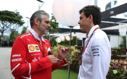 Arrivabene elogia la mentalità vincente Mercedes