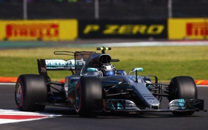 Messico: Bottas-Hamilton nelle FP1