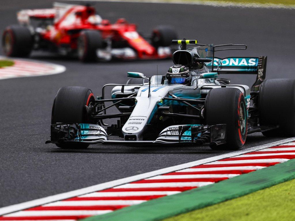 Giappone: 5 posizioni in meno per Bottas