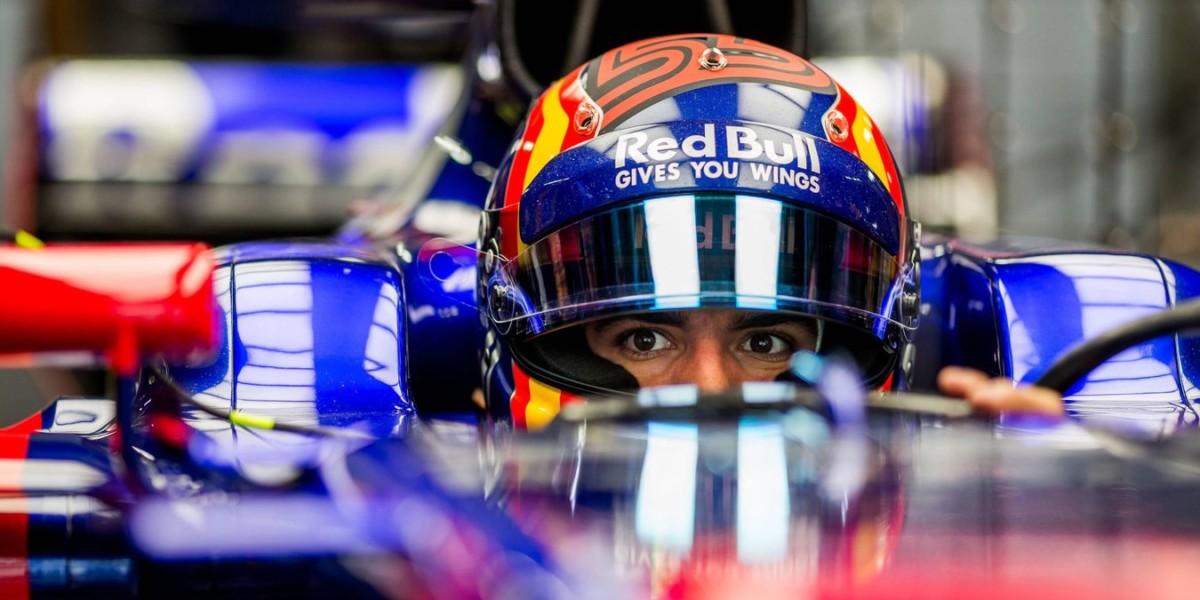 La Toro Rosso libera Sainz dopo il Giappone