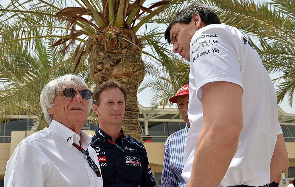 Horner e Wolff ribattono alle accuse di Ecclestone