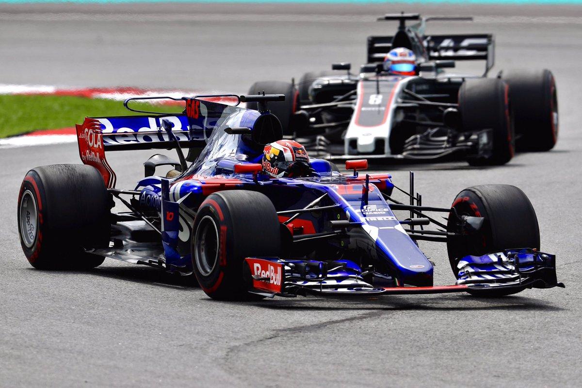 Gasly arma della Toro Rosso per attaccare la Williams