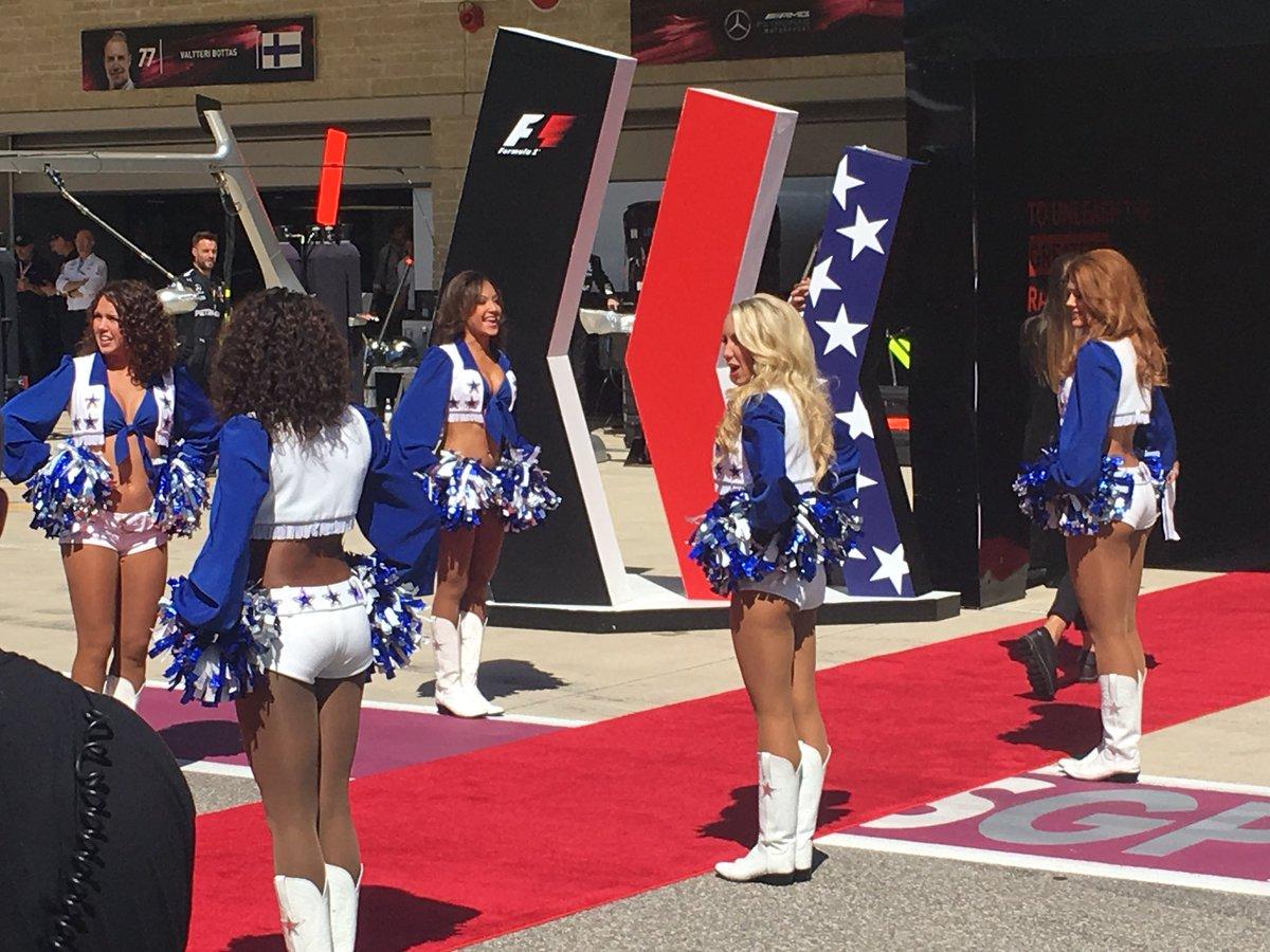 GP USA: la griglia di partenza ufficiale