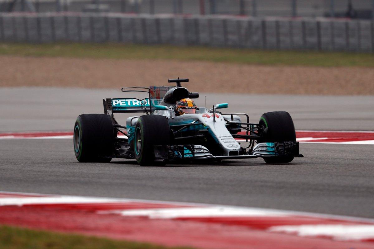 GP USA: prime libere a Hamilton, Vettel secondo