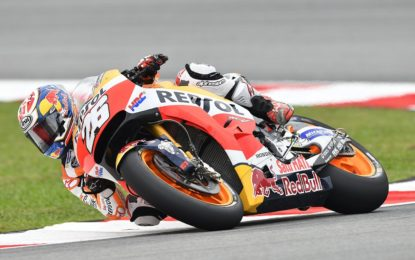 MotoGP: Pedrosa in pole a Sepang, Dovi e Rossi 3° e 4°