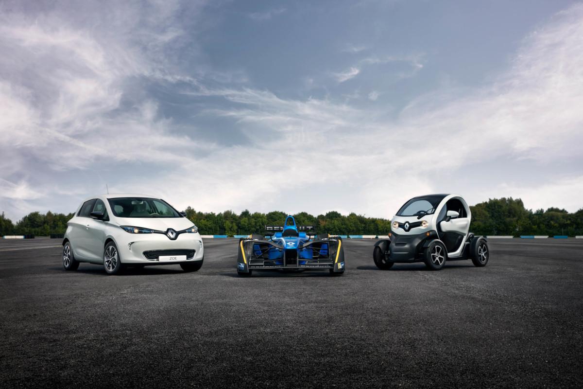 Renault leader dell'elettrico, in pista e su strada