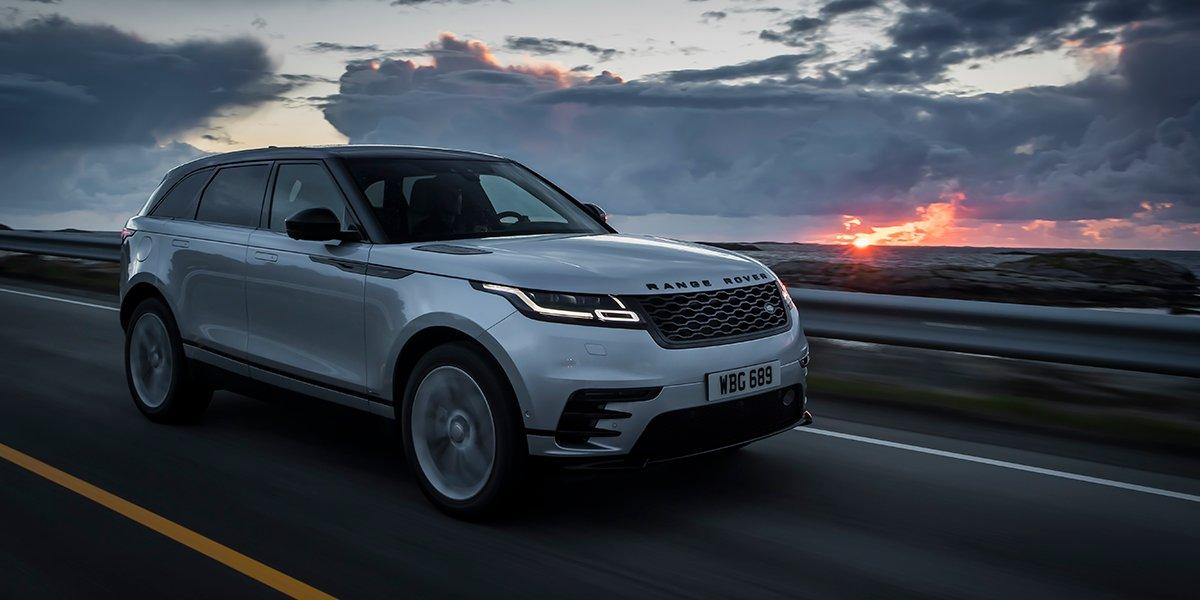 Cinque stelle per Range Rover Velar