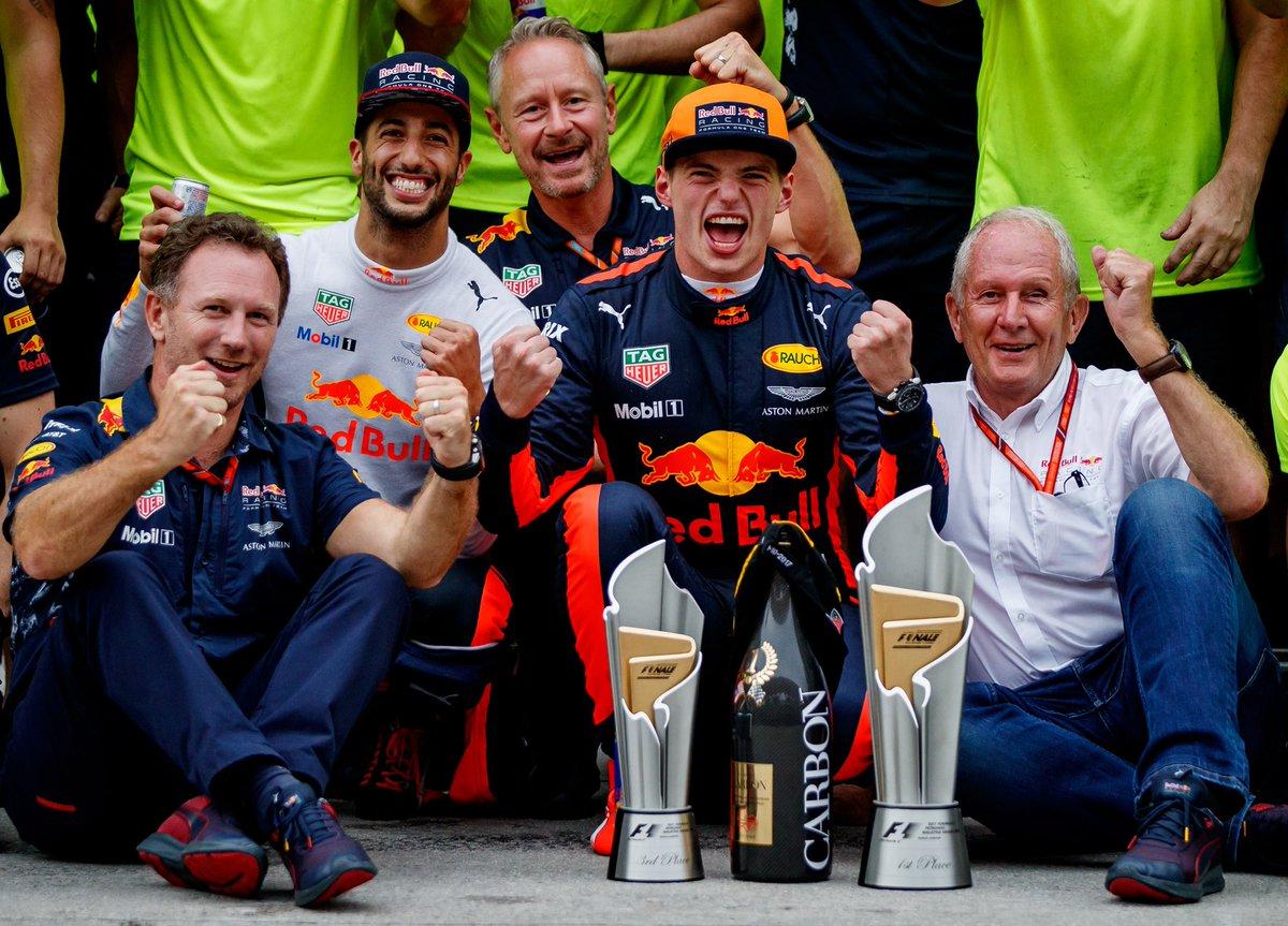Max Verstappen e Red Bull Racing insieme fino al 2020