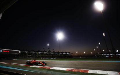 Abu Dhabi: Ferrari 3° e 5° in qualifica