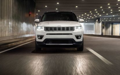 Jeep: nuova Compass Limited Winter
