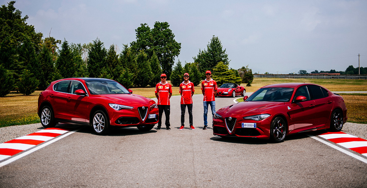 Alfa e Fiat al Motor Show con Giovinazzi e Fiat Torino
