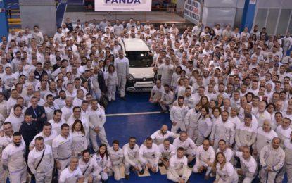 Prodotta la milionesima Fiat Panda