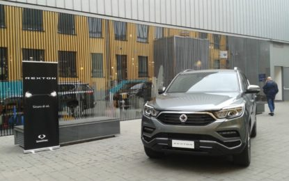 SsangYong Rexton: sicurezza al top